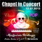 CD Chapel in Concert 2013 - Classic meets pop